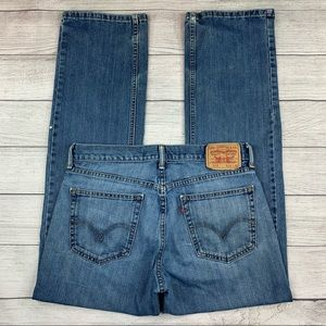 Levi's 559 Distressed Stained Relaxed Worn In Jean
